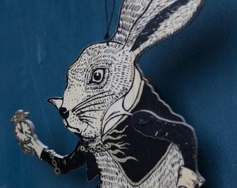White Rabbit jumping jack