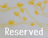 Reserved for Ellen