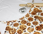 Chocolate Chip Cookies Adult Apron - Cream