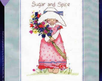 Sugar and Spice 5553 By Designs For the Needle Cross Stitch Kit-