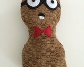 Poindexter Peanut - Squeaky Dog Toy
