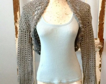Misty Morning Shrug Bolero Sweater Women Teens Juniors and Plus Sizes Weddings Mother of the Bride