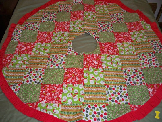 Tree Skirt Quilted 63