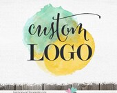 Custom Logo - Custom Logo Design for Photographer - Custom Hand Drawn Photography Shop Business Logo Custom Watermark design