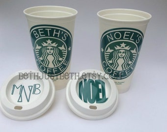 Personalized Coffee Cup - Starbucks