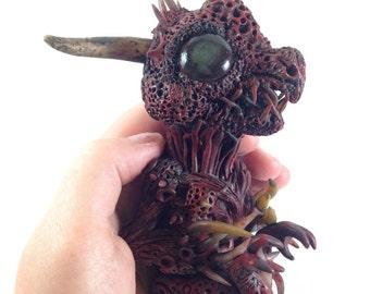 Monster Fetus Sculpture gaff fake taxidermy