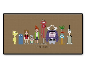 Foster's Home For Imaginary Friends - Cross Stitch PDF Pattern