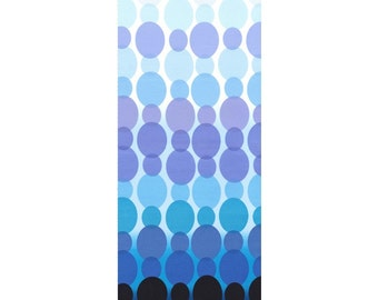 Michael Miller Fabric - Rain Dot in Blue - Ombre Fabric -By The Yard