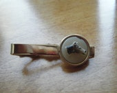 Horse Head Tie Clip// Men's Accessories Vintage