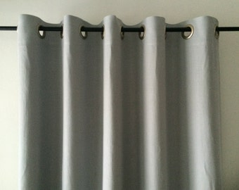 blackout linen curtains grommet curtain unlined or lined eyelet window drapes