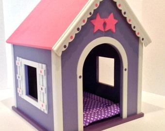 American Girl Doll: Dog House Pinky Purple Whimsy