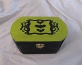 Victorian Bats Jewelry Stash Keepsake Box