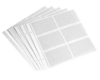 Refill Pages  for Large Photo Albums 4x6