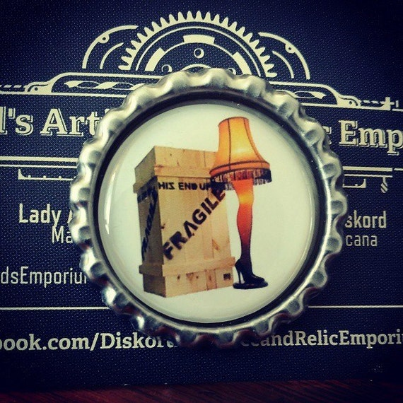 Fragile A Christmas Story Pin by LadyDiskordsEmporium on Etsy
