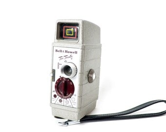 Awesome Vintage Bell & Howell 8MM Movie Camera- We have a wonderful selection of vintage cameras