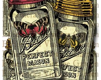 Vintage Jar Tags - Printable Hang Tags