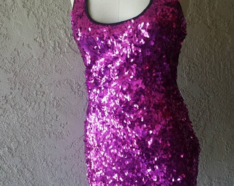 SALE til 11/23 M/L Last One! Hot Pink Racerback Dress (Medium/Large) CLEARANCE