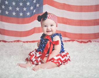 4th of july outfit- 4th of July dress- Kids 4th of july - Baby girl 4th of july dress- newborn 4th of july dress- 4th of july- Military baby