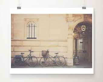 cambridge photograph bicycle photograph trinity hall photograph cambridge university photograph cambridge print bicycle print