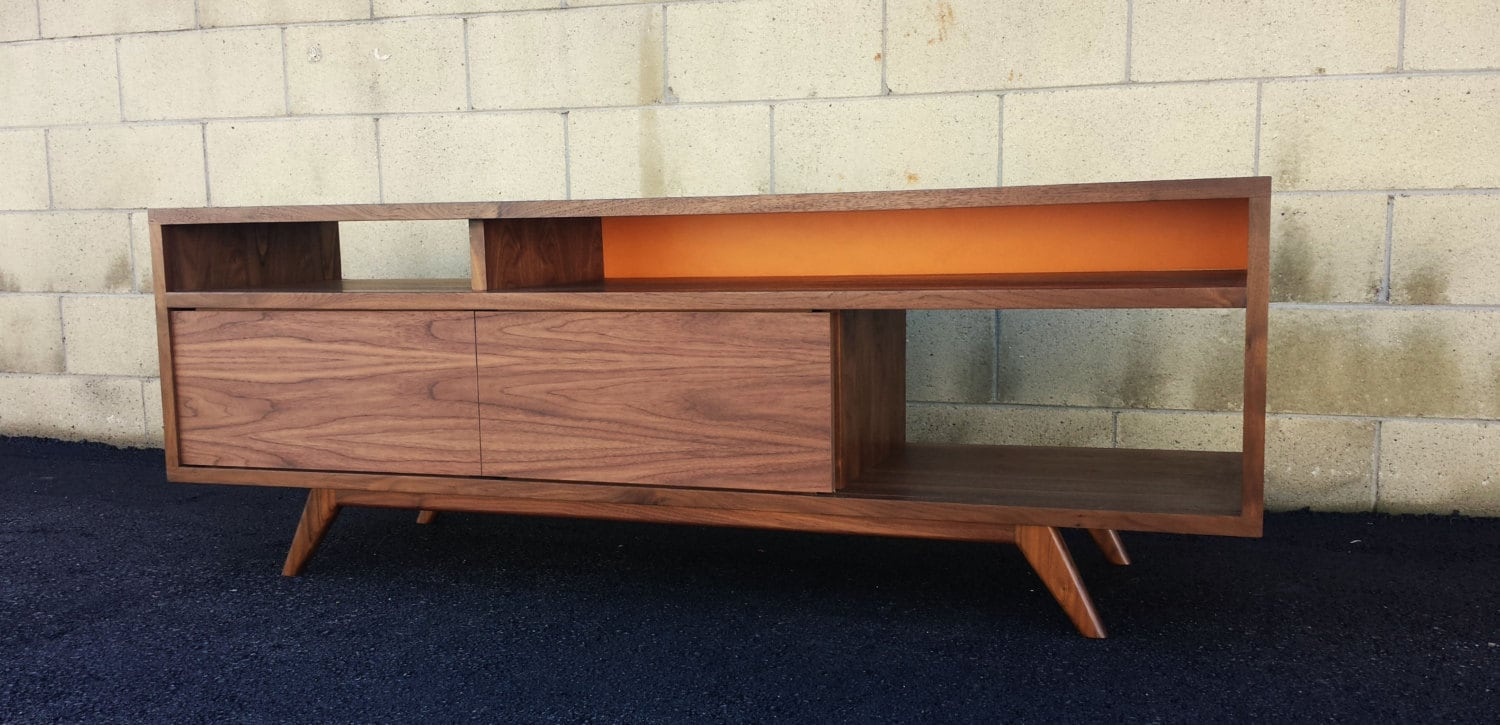 Mid century modern danish modern TV console TV stand by ...