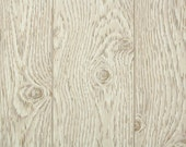Vintage Wallpaper by the Yard 60s Retro Wallpaper - 1960s Beige and Tan Faux Wood Grain Paneling