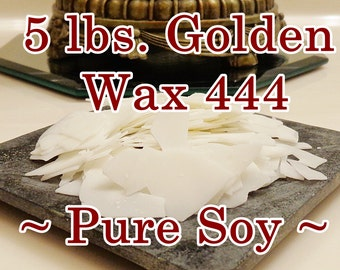 5 Lbs. CANDLE WAX, Soy Flakes (GW 444)