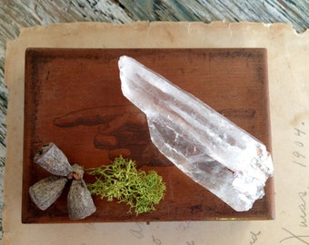 Natural Rough Quartz Crystal Points Massage Healing Meditation Spiritual Healing Crystal