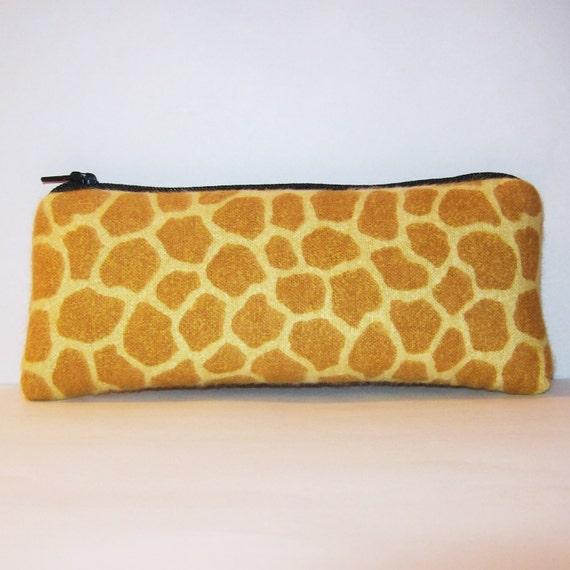 giraffe pipe pouch glass pipe case glass chillum cozy