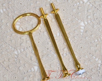 Tidbit Cakestand Handle Style 3 GOLD Fitting Hardware Buy 3 get one FREE