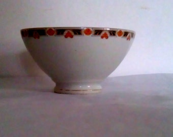 French Limoges Cafe au lait bowl