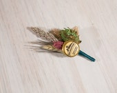 One of Kind READY TO SHIP Hops Boutonniere BridgePort Brewing Company