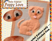 PDF Crochet Pattern Puppy Love Baby Afghan