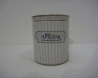 Enamel Jar