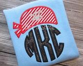 Pirate Bandana Monogram Topper Applique Design Machine Embroidery INSTANT DOWNLOAD