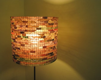 Lighting Lamp Shade Table Lamp Floor Lamp Unique Wire Drum Paper Lampshade Lampada Coffee Filter Art - Shipping Worldwide