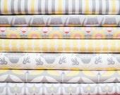 Haven by Monalua Organic Cotton Fabric Bundle - Half Yard Bundle - 7 half yard pieces (B319)