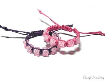 Twin Girls Name Bracelets, Personalized Bracelets, Baby Girl Bracelet, Child Bracelet, Kid Bracelet, Twins Bracelets, Twins ID Bracelets