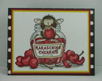 Overindulge in Happy Birthday Greeting Card