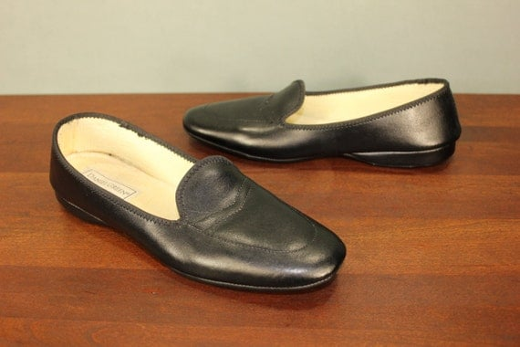 slippers mules bedroom house shoes heels wedges mad men mid century