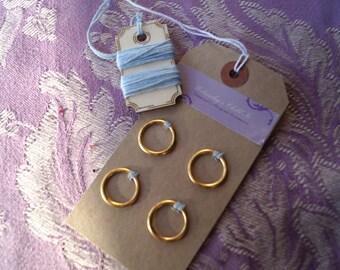 DIY Dorset Button Kit. Make Your Own Dorset Buttons. Set of 4