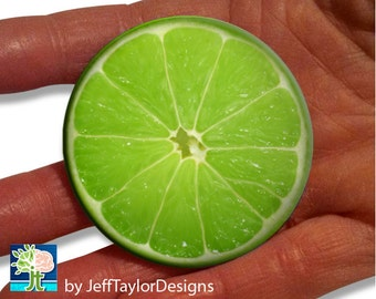 Lime Pocket Mirror