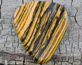 Bocote - Wooden Guitar Pick - Wood Guitar Pick - Wood Plectrum - Exotic Wood - Wood Gift
