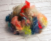 Licker-in Leftover Fibers for Spinning, Felting, Or Carding - 1 ounce