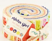Aloha Girl cotton jelly roll by Fig Tree for Moda fabric