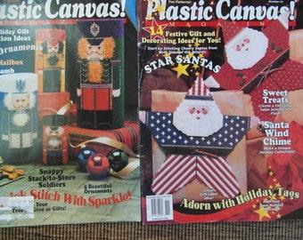 Plastic Canvas Christmas Patterns Santas , ornaments, gift tags