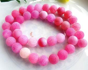 39 AGATE Gemstone Beads 10mm - COD0591