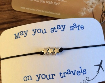 Travels...Wish String Bracelet...