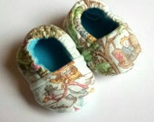 Mother Goose Themed Baby Booties Size 0-3 months