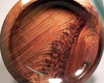 Walnut Feather Crotch Platter from Wooden Illusions by Bowman