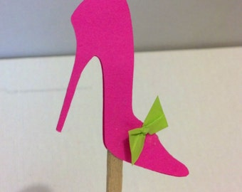 Hot pink heels party | Etsy
